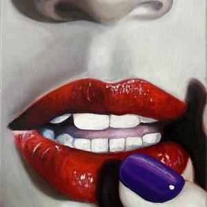 Lips 'N' Nails 2 - 40 x 30 cm