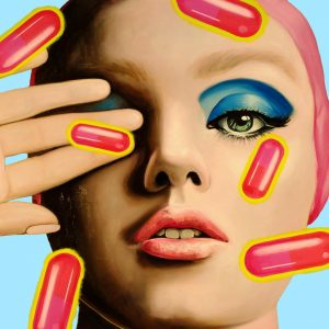 Pills 5 110x110cm
