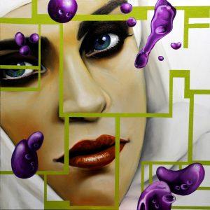 Purple Bubble 2